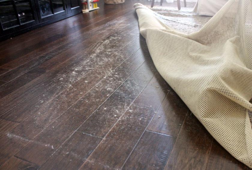 Oriental Rug Pad For Hardwood Floors Rubber Felt Pad