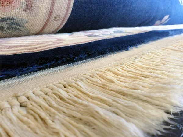Rug Fringe Cleaning