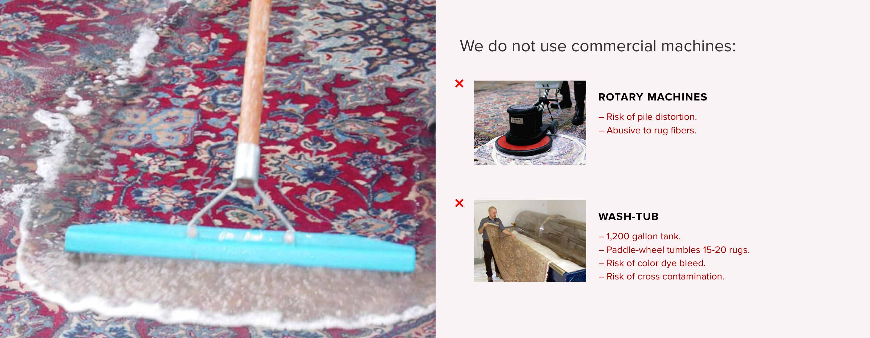 Oriental Rug Cleaning Services - Wool. Persian. Silk