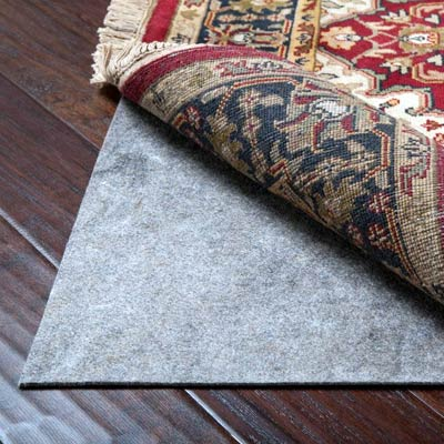 Oriental Rug Pad For Hardwood Floors Rubber Felt Pad