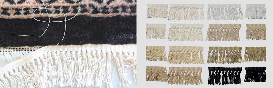 Oriental Rug Fringe Repair Carpet Fringe Replacement