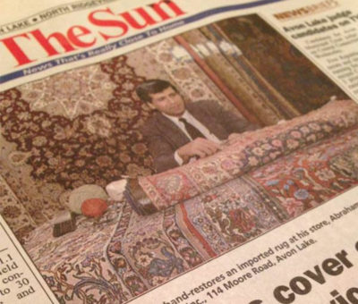 Brothers cover Oriental carpet, service markets
